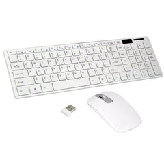 2.4G Wireless Keyboard Mouse Combo Optical 1600Dpi With Keyboard Film Set for PC Laptop Win7/8 Android TV Box
