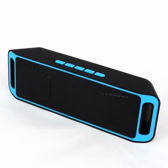Portable Bluetooth Speaker Wireless enceinte BT4.0 Caixa De Som Stereo Subwoofer Speakers TF USB FM Radio Built-in Mic - Deals Blast