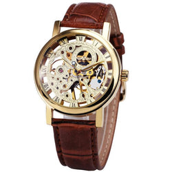 Skeleton Fashion Mechanical  Luxury Men Wrist Watch