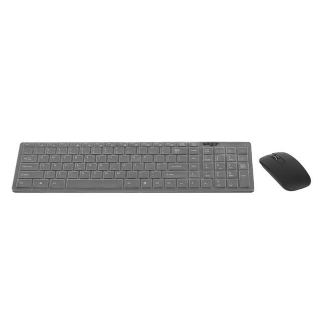2.4Ghz Super Thin Optical Wireless Keyboard Mouse + USB Receiver Set For PC Computer Smart Television - Deals Blast