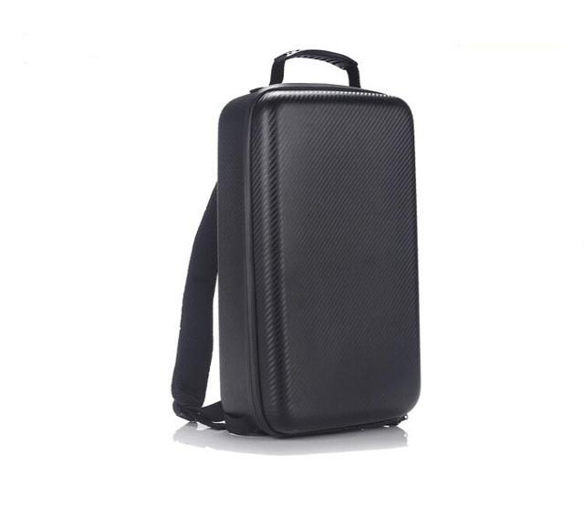 New Hardshell Carbon Grain Backpack Waterproof Suitcase for DJI Mavic Pro - DealsBlast.com