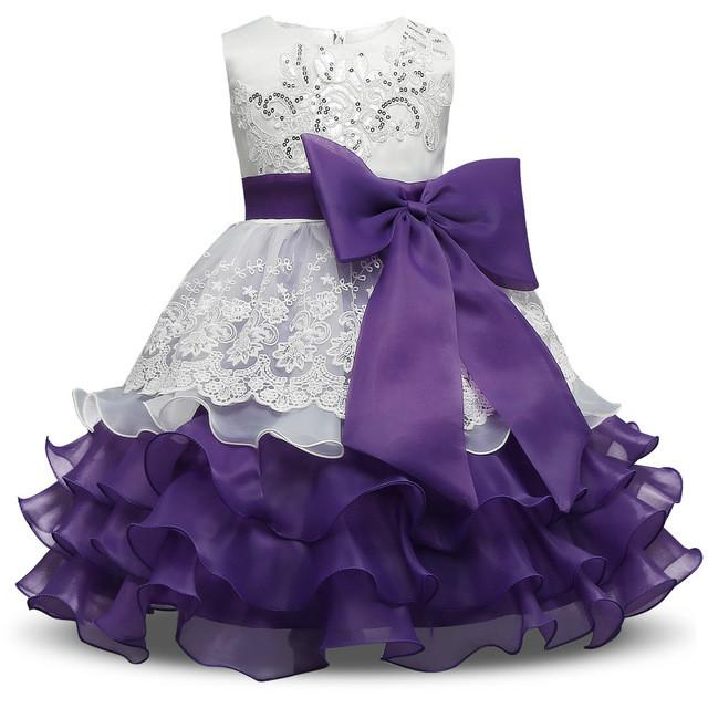 Formal Wedding Ball Gown Toddler Girl Tutu dress for girls clothes kids