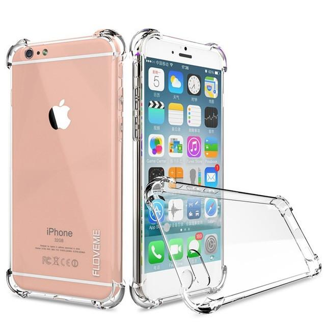 Case For iPhone 6 6S iPhone6 6 S iphone 7 Plus Crystal Clear - DealsBlast.com