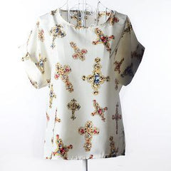 New Chiffon Shirt Women Elegant Blouses Tops And Blusas Batwing Sleeve Womens Casual Shirts Loose