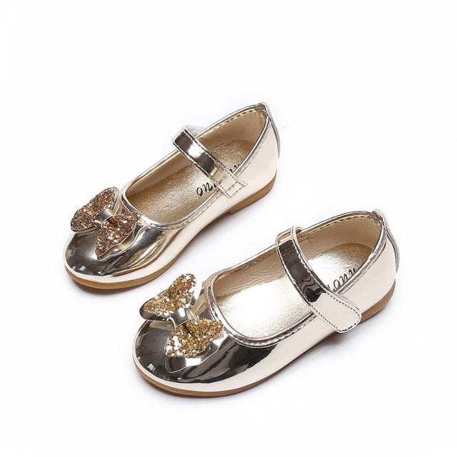 Summer Female Child Leather Sandals Girl Sweet Princess Shoes Baby Dance Shoes Toddler Baby Sandals Girls Top Quality Shoes - DealsBlast.com