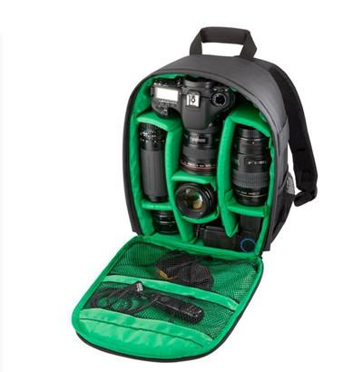 Coloful Waterproof Multi-functional Digital DSLR Camera Video Bag Small DSLR Nikon Canon Camera Backpack for Photographer - DealsBlast.com