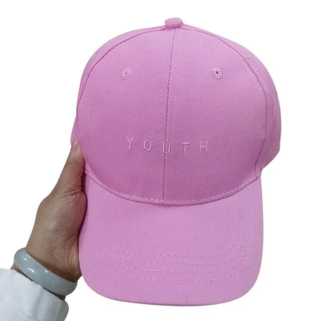 Summer Spring New Fashion Adult baseball Cap Cotton Caps Women Youth Letter Solid Cap Women Pink Hats Snapback Women Caps