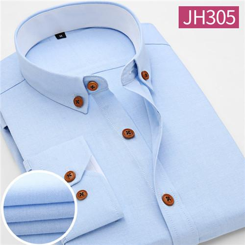 New Arrival Men Shirt Casual Long Sleeve Plaid Formal Brand Clothing Business  Shirts Man Chemise Homme - DealsBlast.com