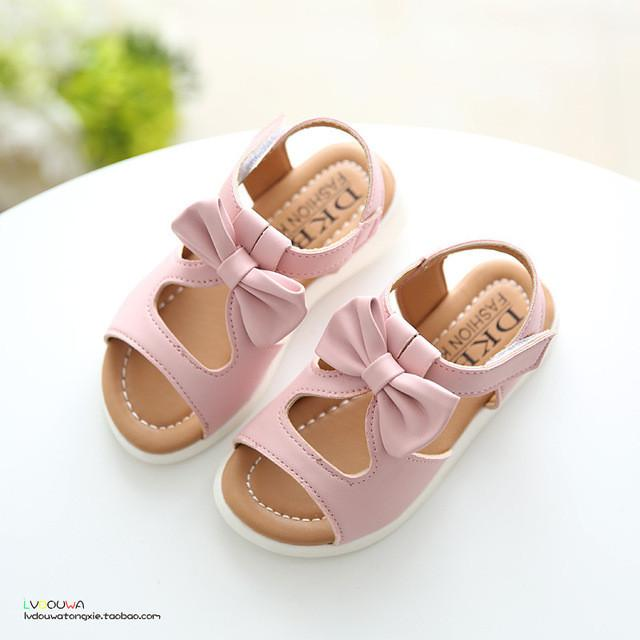 New arrival girls sandals fashion summer child shoes high quality cute girls shoes design casual kids sandals - Deals Blast