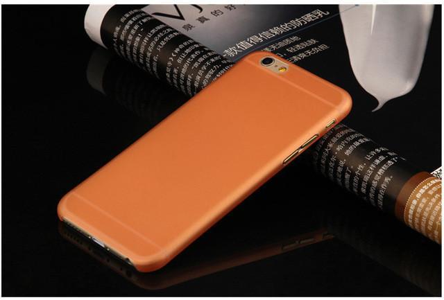 New Arrival 0.3mm Ultra Thin Matte Mobile Phone Fundas Coque for iPhone 4 4S 5 5S SE 6 6S 7 Plus Case Slim Matte Transparent - DealsBlast.com