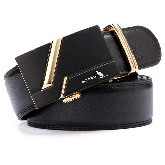 Brand men's fashion Luxury belts for men genuine leather Belts for man designer belt cowskin high quality - DealsBlast.com