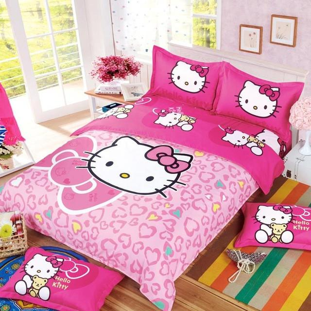 Fashion Luxury 3D Butterflies Cartoon Printing Double  Pattern Bedding sets include Duvet cover Flat  sheet Pillowcase - DealsBlast.com