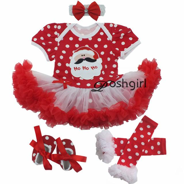 Girls' Christmas Dress Set - DealsBlast.com