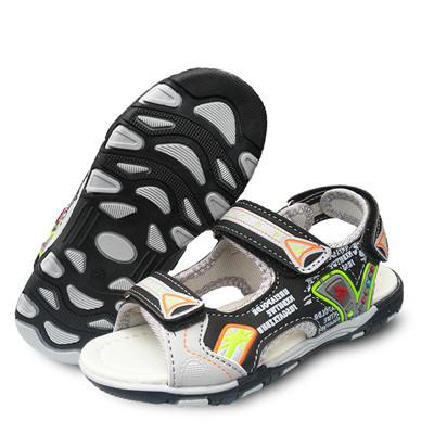 Summer 1pair  fashion Children Shoes Summer Sandals, Boy Shoes Beach soft shoes - DealsBlast.com
