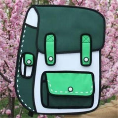 Trending Hot New 3D Backpacks
