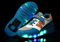 18 Kinds Children Shoes Boy & Girls Casual With LED Lamp Sneakers