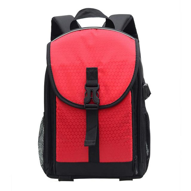 Digital SLR Camera Bag DSLR Backpack Video Photo Bags for Camera Canon Sony d3200 d3100 d5200 Small Compact Camera Backpacks - DealsBlast.com