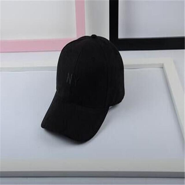 Letters  baseball cap suede sports   ny cap hat men and women bone snapback hats golf wang - Deals Blast
