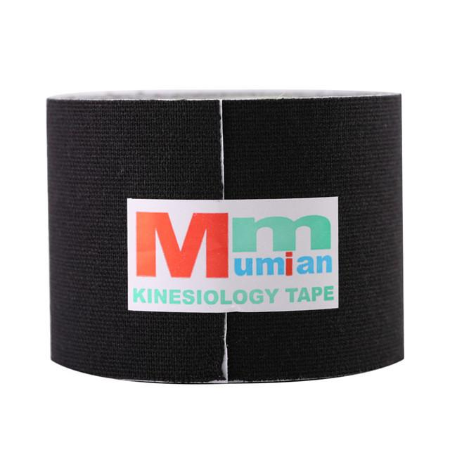 5cm x 3m Mumian Sports Kinesiology Tape Kinesio Roll Cotton Elastic Adhesive Muscle Bandage Strain Injury Support Wholesale - DealsBlast.com