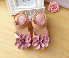 Girl Comfortable Flat Sandals Flower