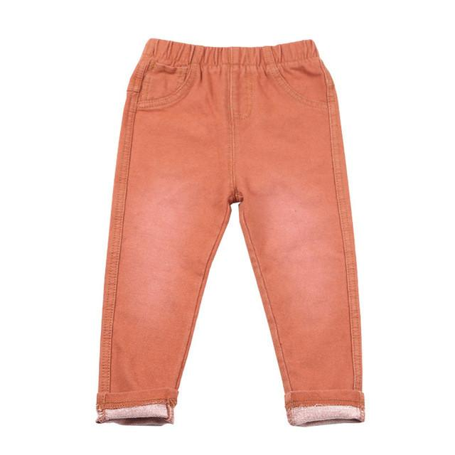 1-6Y Children Jeans Boys Denim trousers Baby Girls Jeans Top Quality Casual pants kids clothing spring  leggings - DealsBlast.com