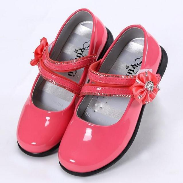 Summer Cool Girls Sandals Fashion Princess Shoes PU Leather Female Child Single shoes Kids Sandals Size 27-38