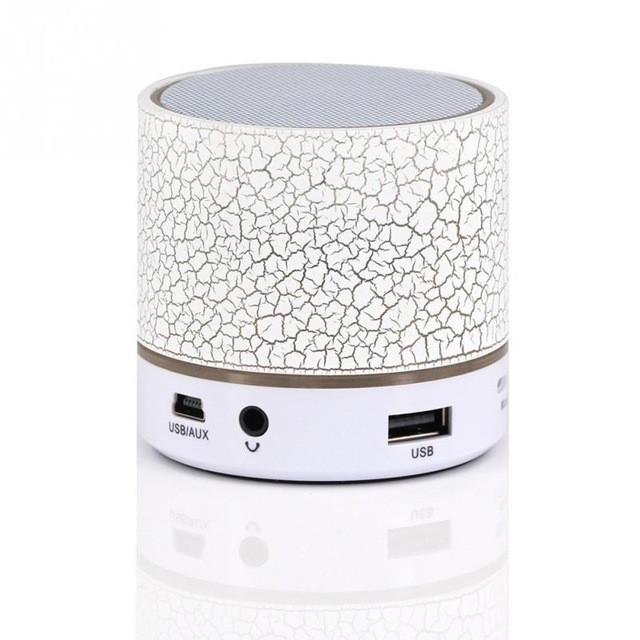 LED Lighting Mini Wireless Bluetooth Speaker A9 TF USB Portable Musical Subwoofer Loudspeakers For phone PC with Mic - DealsBlast.com