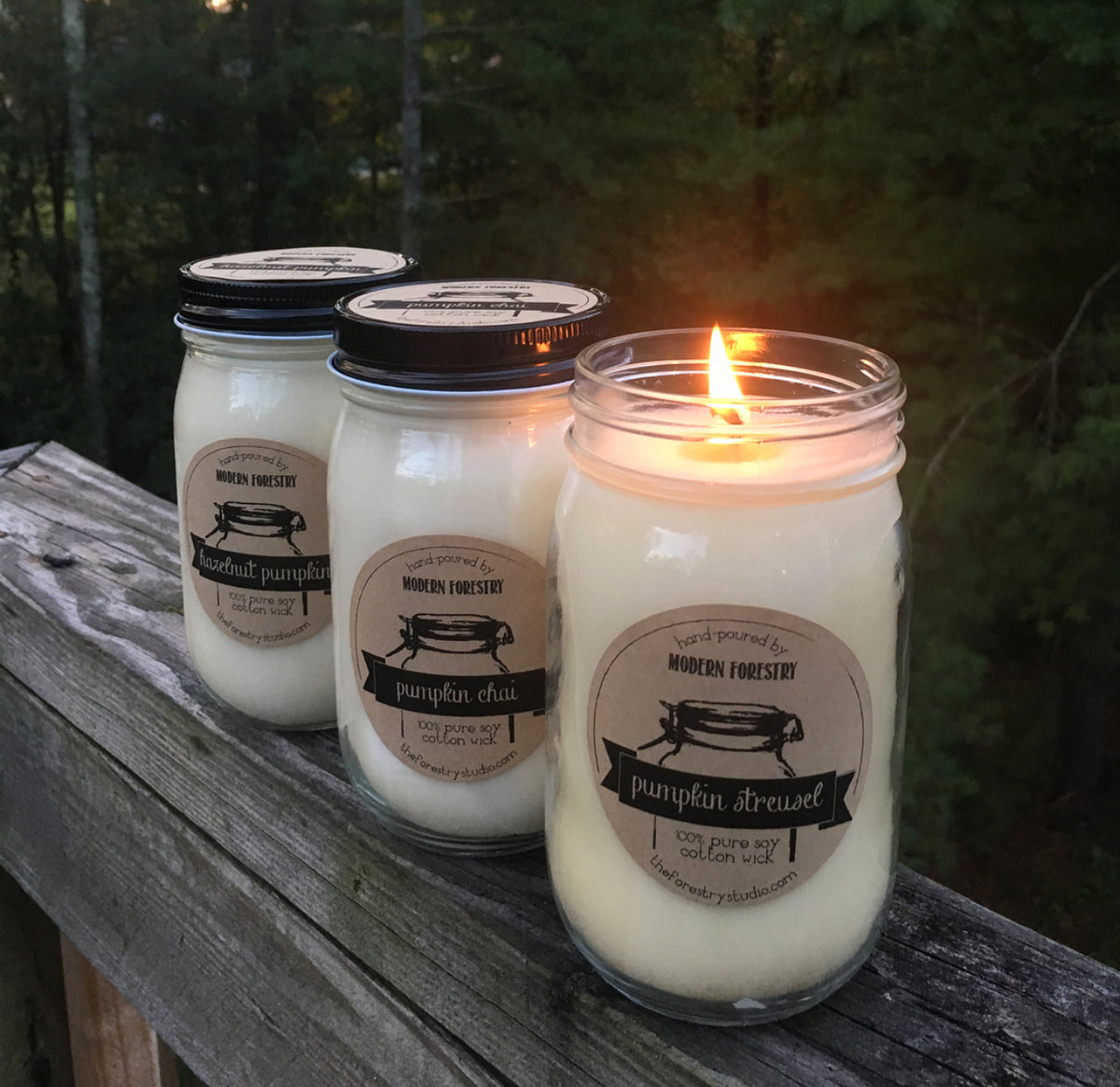 Pumpkin Candle Bundle