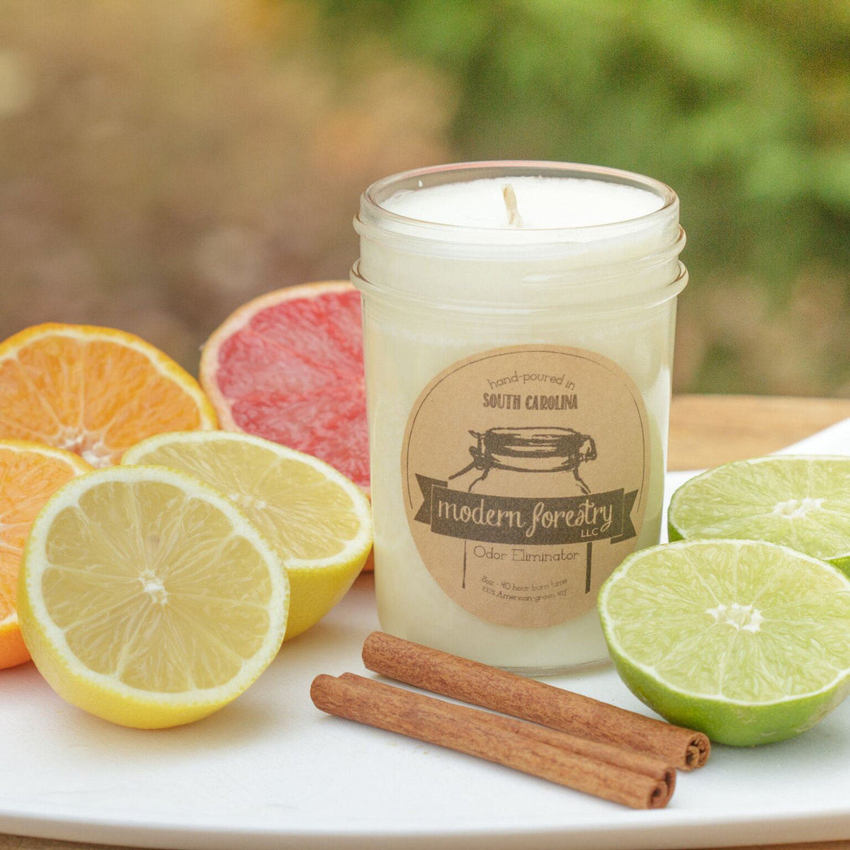 Odor Eliminator Soy Candle