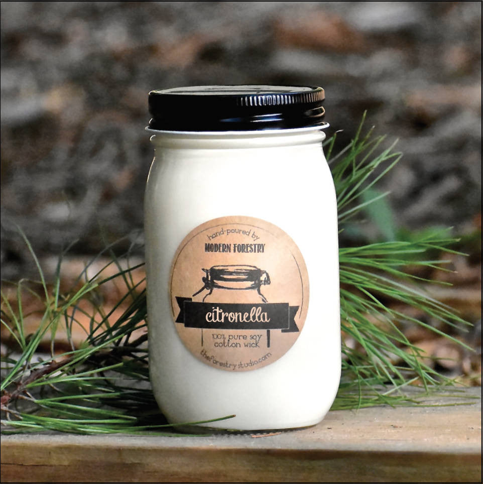 Wholesale Citronella Soy Candle