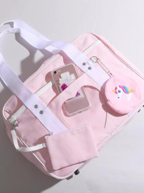 JK School Ita Bag in Pink