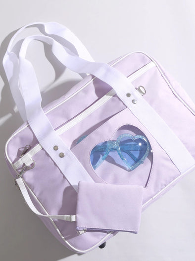 JK School Ita Bag in Purple