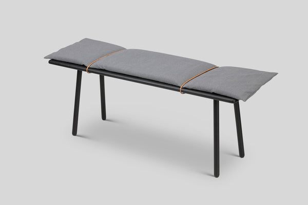 Skagerak Georg Bench (Black)
