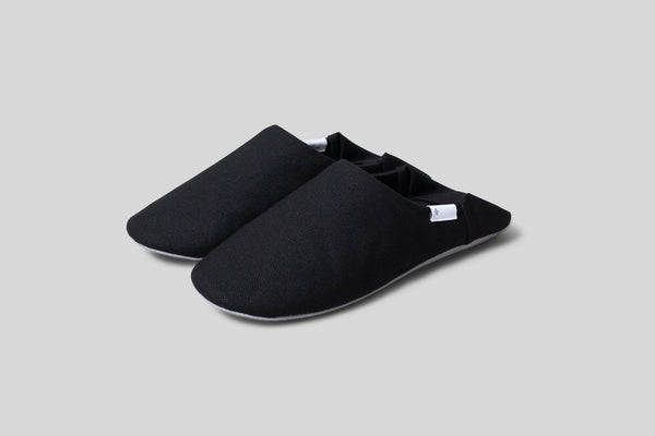 ABE Canvas Home Shoes (Black)