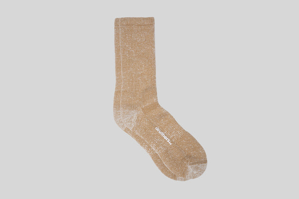 Druthers Heavyweight Merino House Socks (Brown)