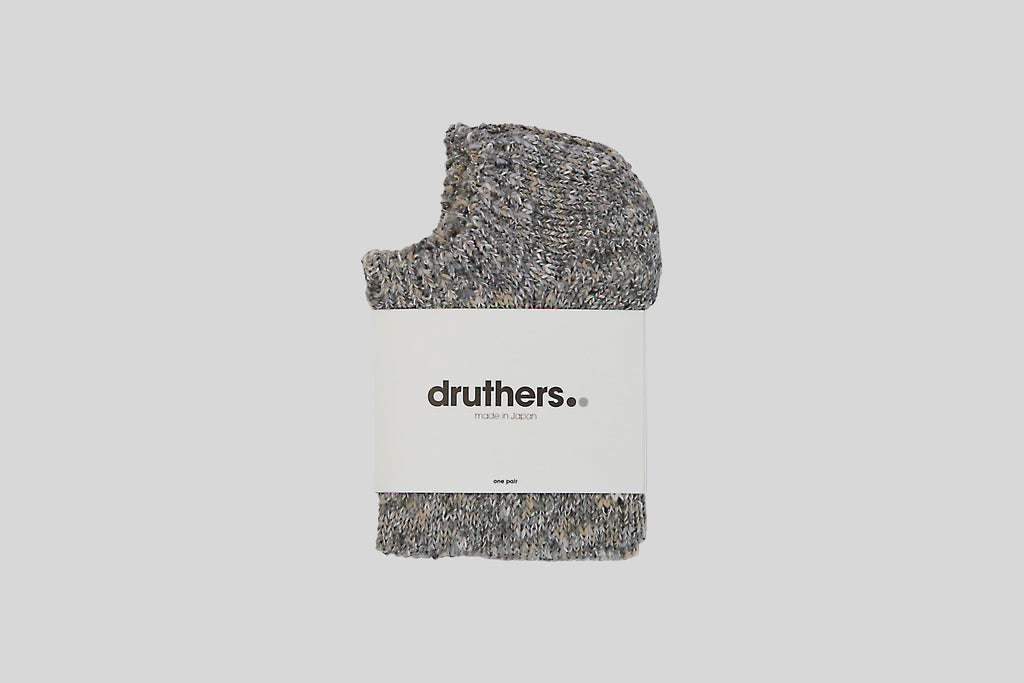 Druthers Melange Ankle Socks (Grey)