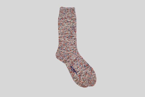 Druthers Recycled Cotton Melange Socks (Oatmeal)