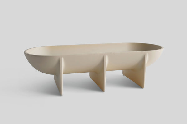 FS Objects Standing Bowl Cream (Large)