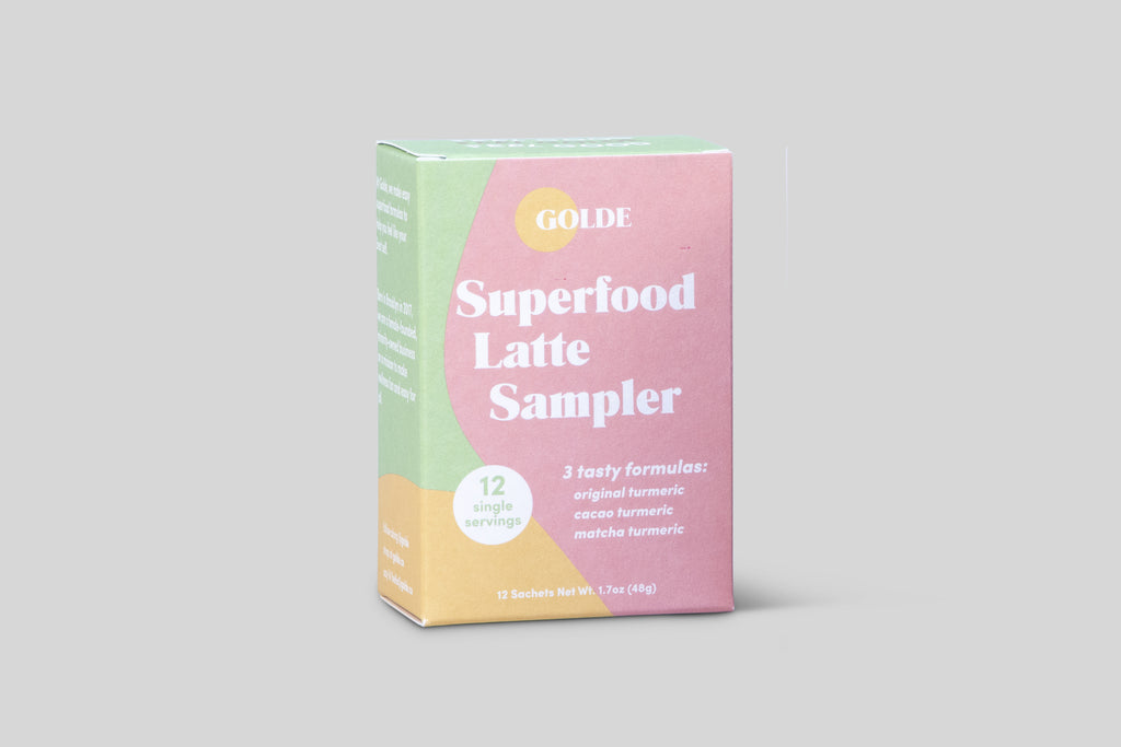 Golde Superfood Latte Sampler