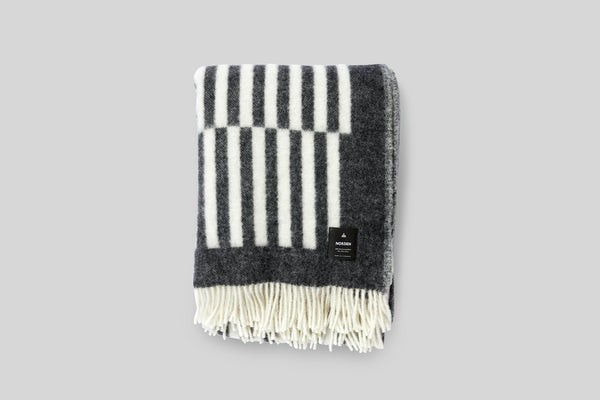 Norden Norrebro Wool Throw Blanket