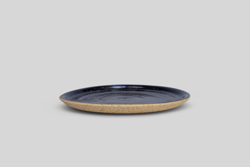 "Norden 8"" Salad Plate (Black Solid)"