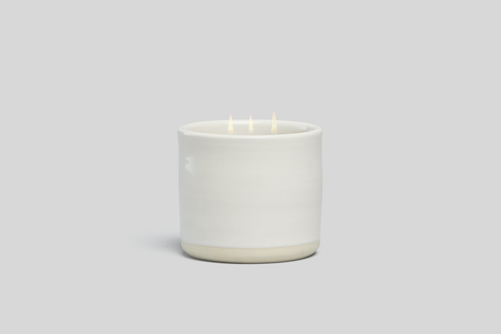 Norden Idyllwild 32 oz. Three Wick Ceramic Candle