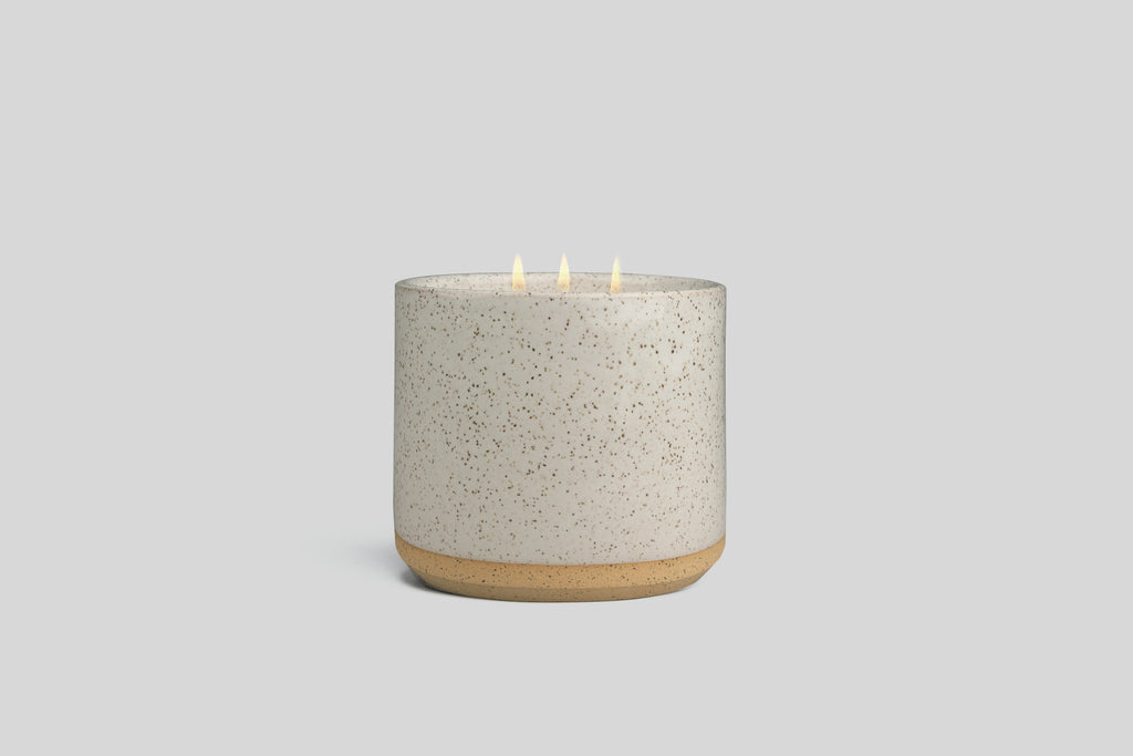 Norden Ojai 32 oz. Three Wick Ceramic Candle
