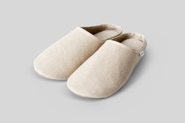 Sasawashi Room Shoes (Camel)