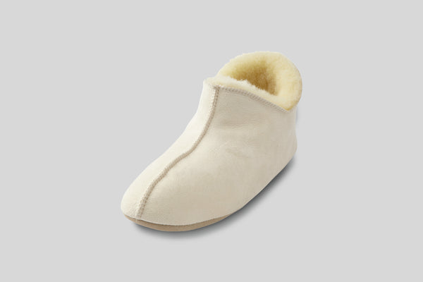 Shepherd of Sweden Women's Lina Slipper (Natural)