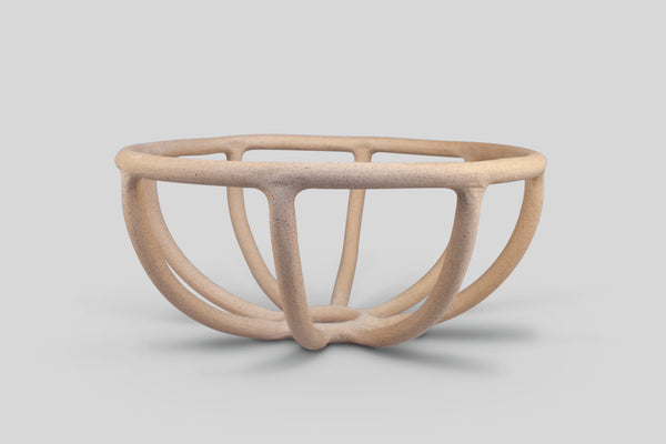 SIN Prong Fruit Bowl (Stone, Large)