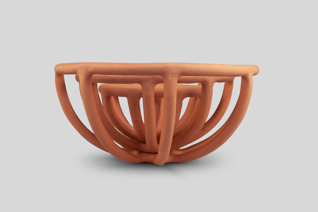 SIN Prong Fruit Bowl (Terracotta, Small)
