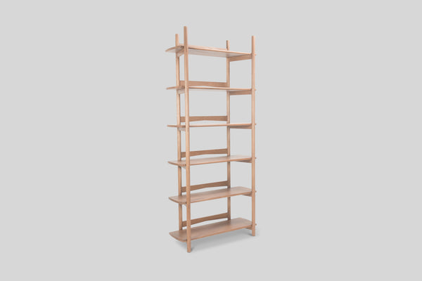 Sun at Six Mora Bookcase (Sienna)