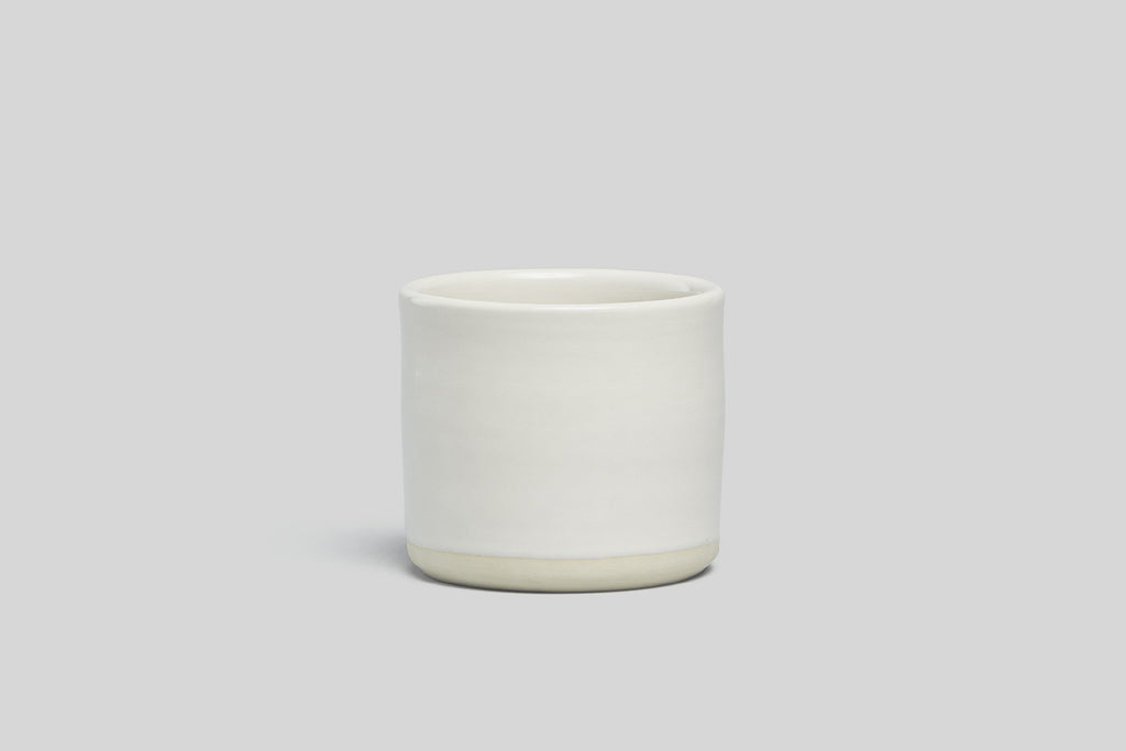 "Norden 5"" Planter (White/Raw)"