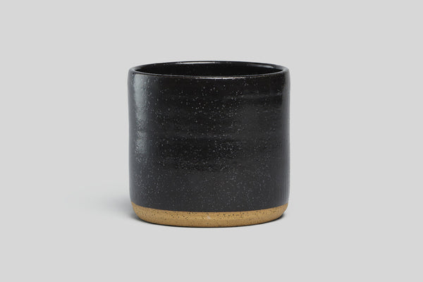 "Norden 7"" Planter (Black Speckle)"